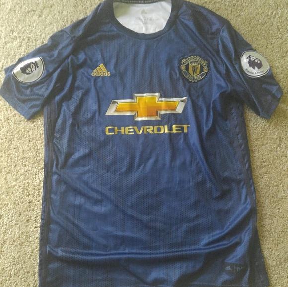 online retailer e4876 5c311 Adidas Manchester United Parley Jersey